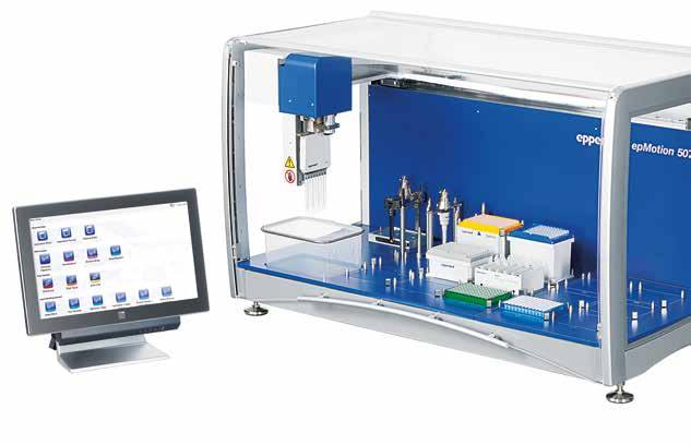 and other cell culture applications Special features for epmotion 5073 > The 6