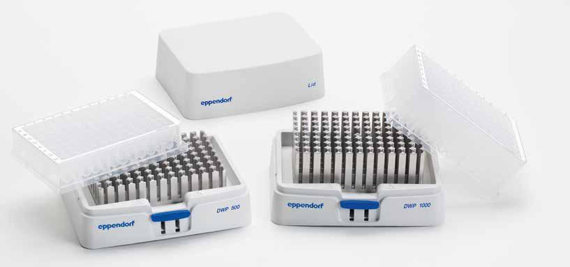 108 109 Eppendorf SmartBlock Eppendorf ThermoTop MIXERS AND HEATERS Tired of condensation in your tubes?
