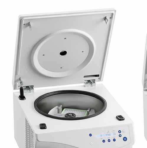 162 163 Centrifuge 5804/5804 R and 5810/5810 R CENTRIFUGES AND ROTORS CENTRIFUGES AND ROTORS Eppendorf Centrifuge 5804/5804 R and 5810/5810 R with their renowned quality