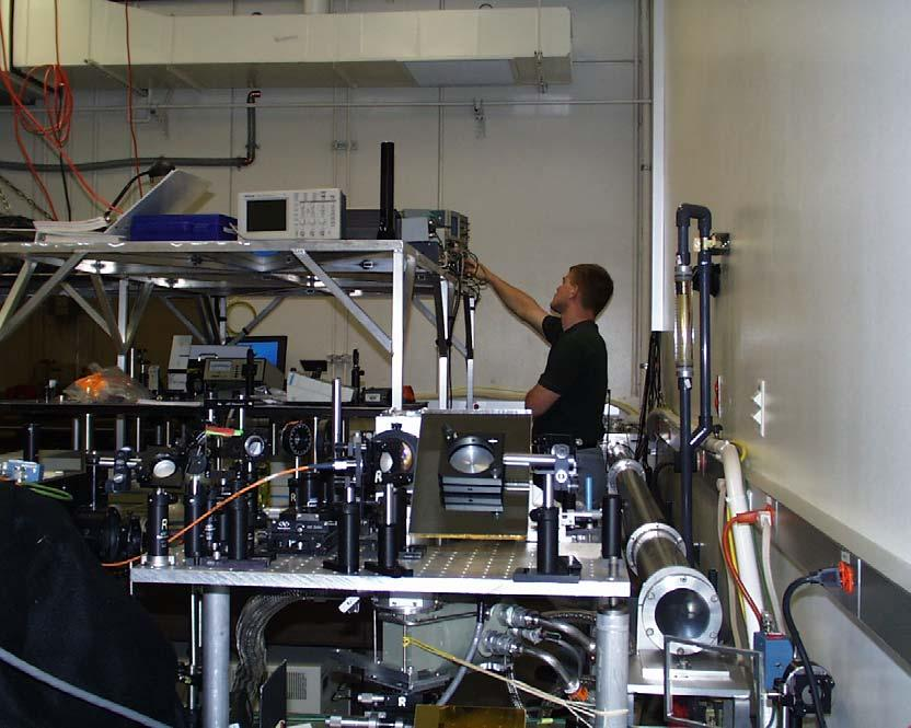 User labs and output characteristics 6 Mev accelerator control room lab lasers transport