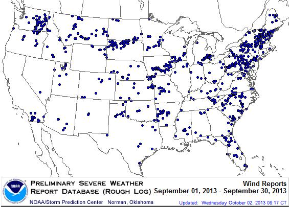 Climate Highlights Severe Weather Analytics
