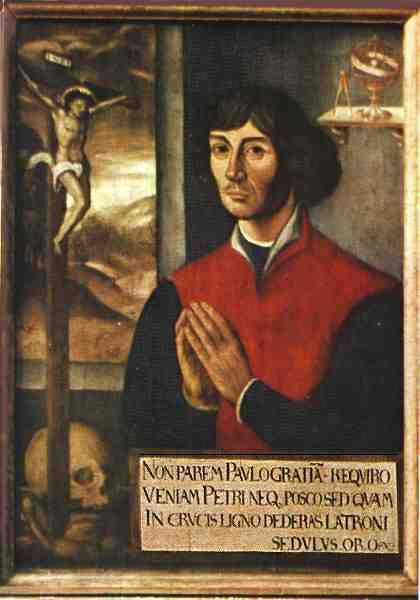 The Copernican Revolution! Polish astronomer Nicholas Copernicus (1500 A.D.) argued in favour of the heliocentric model!