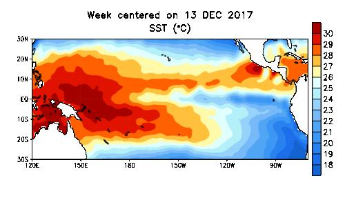 El Niño Southern Oscillation Reported on March 5, 2018 ENSO Alert System Status: La Niña Advisory La Niña conditions are present.