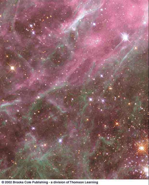 Sources of Shock Waves Triggering Star Formation Giant nebulae are very