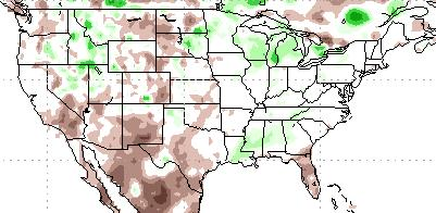 of average precipitation Last 30 Days 30-day (ending 23