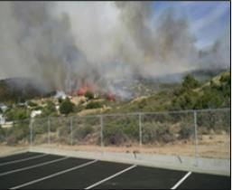 Threatening 100 homes near community of Yarnell (pop.