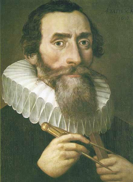 Johannes Kepler (ca. 1600)! Inherited a set of very accurate observations of the planets when Brahe (his boss) died!