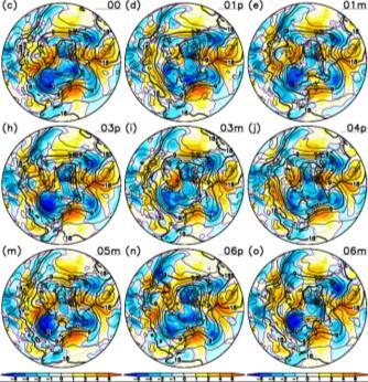 66 Observed data Atmospheric and Oceanic