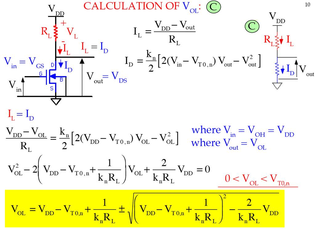 CALCULTION OF VOL