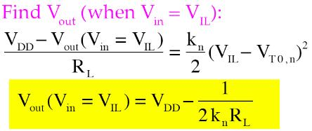 CALCULTION OF VIL