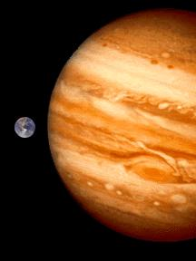 jpg The Gaseous Planets Jupiter 483 million miles from the Sun Largest planet in solar system Composed