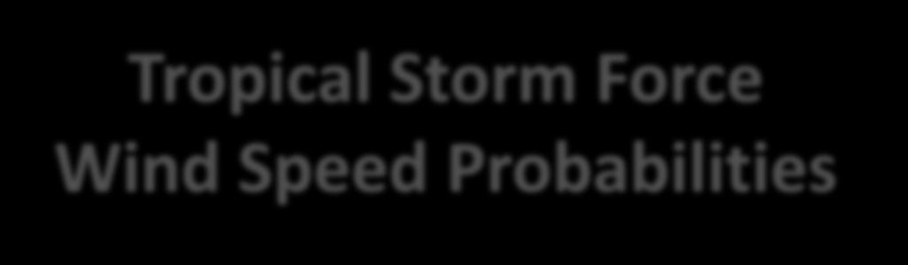 Tropical Storm Force Wind Speed