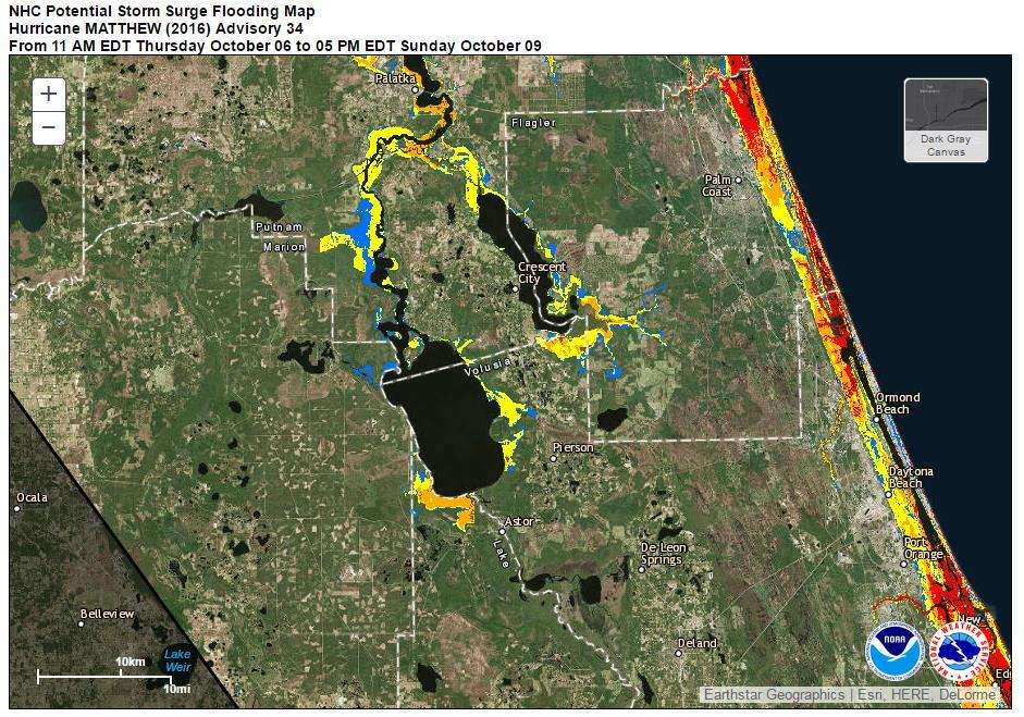 Reasonable Worst Case Storm Surge Heed the advice of Local officials.