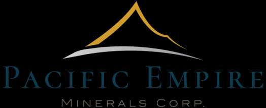 Pacific Empire Minerals Provides Copper King RC Drilling Results November 1, 2018 - Vancouver, BC, Canada - Pacific Empire Minerals Corp.