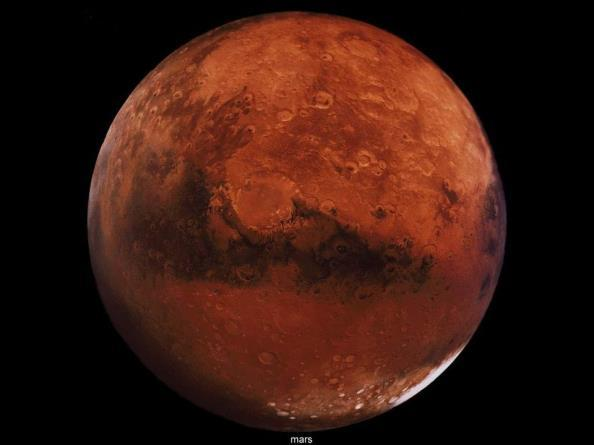 MARS Atmosphere = more than 95% carbon dioxide.