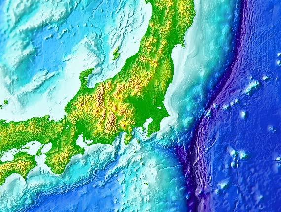 Steady Crustal Movements Caused by Subduction of Oceanic Plates (vs Eurasian plate) 40 N Japan Coast Guard Tohoku Univ. Nagoya Univ. 38 N 36 N 9.2cm/year (NUVEL-1A) 34 N Pacific Plate 32 N Approx.