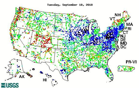 28-Day Average Streamflow