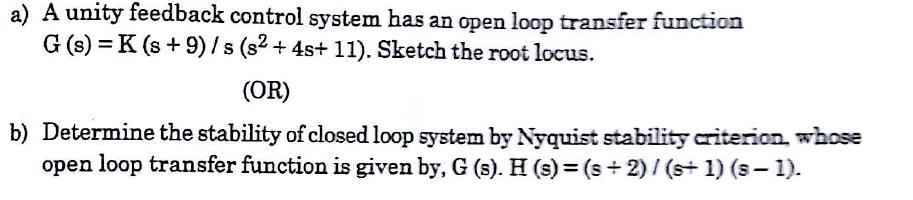 [M. Gopal, Control Systems, Principles and Design, 2nd Edition, page no. 629-670] (MAY 2017) 5. Explain in detail the design procedure of lead compensator using Bode plot. (May 2013) [M.