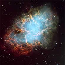 The Crab supernova remnant is