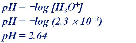 Calculate the ph of a 0.20M solution of HCN.
