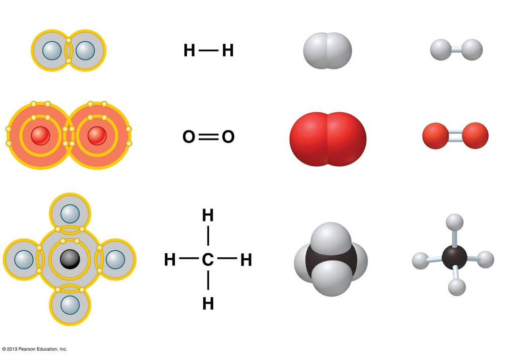 two atoms share one or more pairs of outer-shell electrons. Covalent bonds are the strongest of the various bonds.