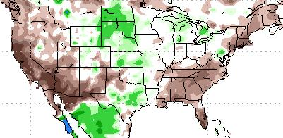 9 Nov 2013) % of average precipitation Last 90 Days