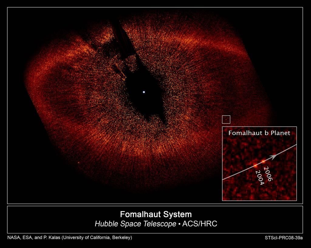 Direct Views of Exoplanets Fomalhaut b: 0.