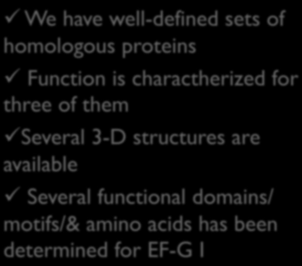 domains/ motifs/& amino acids has been determined for