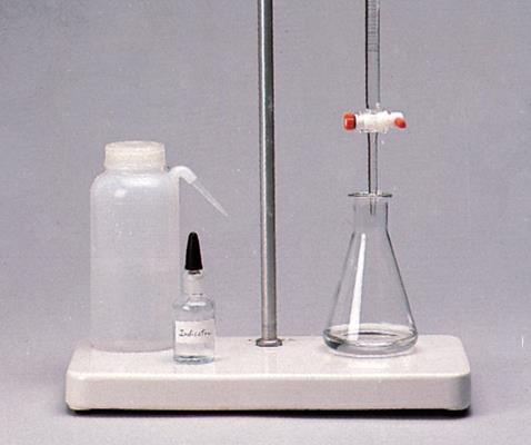 Titrations In a titration a solution of accurately known concentration is added gradually added to
