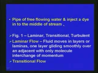 that with respect to lift effect or the drag effect what happens. That is also very important as far as the type of fluid flow is concerned.