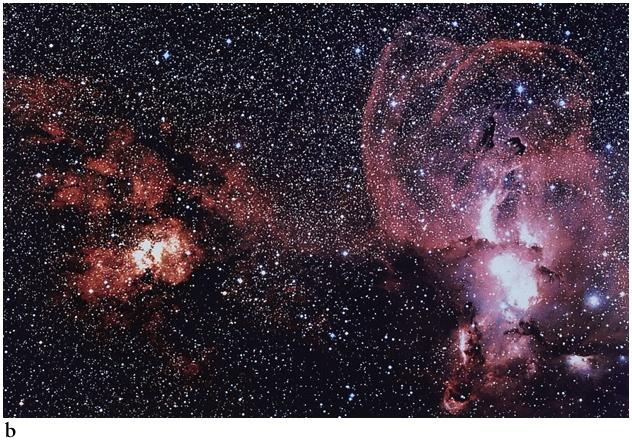 dark nebulae have high enough density Large Barnard objects A few thousand M & ~ 10 pc in diameter
