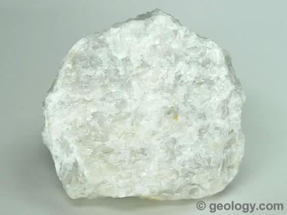Non-Foliated mineral grains are not arranged in plains or bands Marble is a nonfoliated