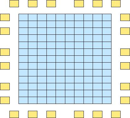 2 ) 10 Pads (56 x 62 cm 2 ) for