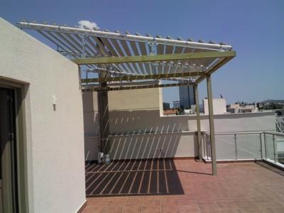 Nice shadowing pergola applications For