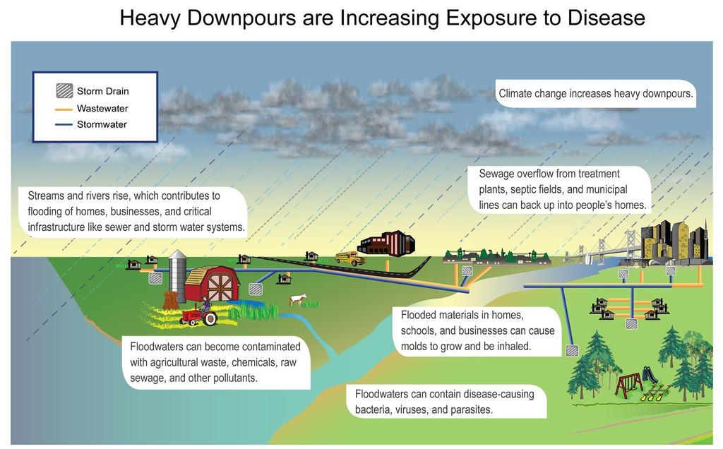 Heavy Downpours are Increasing Exposure to