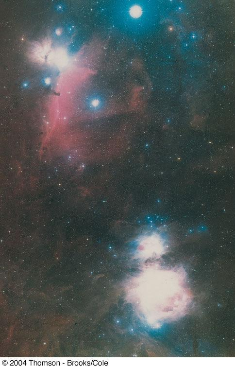 Orion Nebulae is young and a good