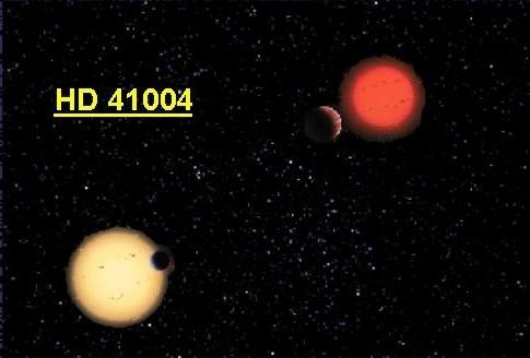 Planets in Binary Stars HD41004: A wide binary system