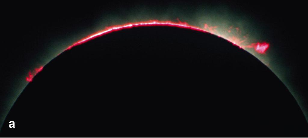 Total Solar Eclipse During a