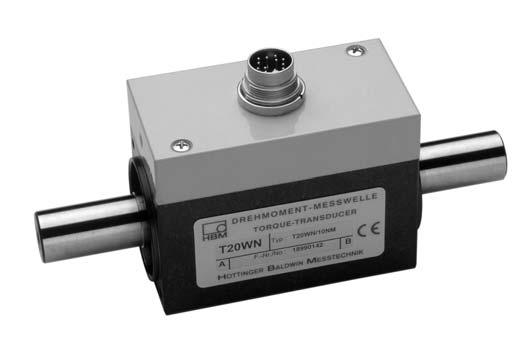 T20WN Torque transducers Data Sheet Special features - Nominal (rated) torques 0.1 N m, 0.2 N m, 0.
