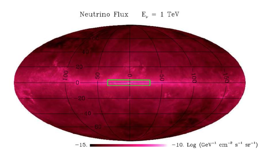 Enhanced ν emission of the Galaxy from the KRAγ model The excess is expected to be higher in the GC