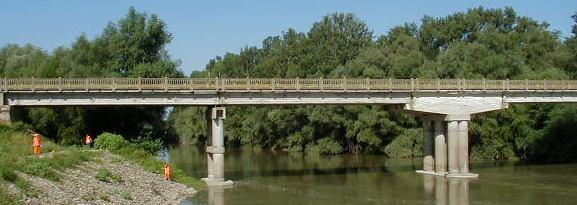Fig. 13 Bridge on DN 24 km 157+281 over the
