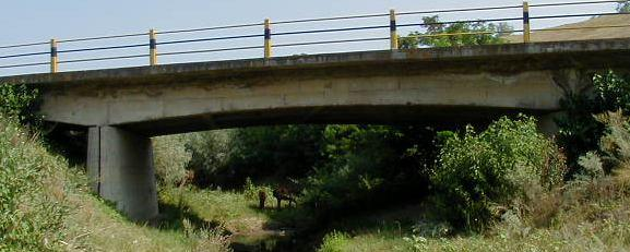 15 Bridge on DN 24 km 219+527 over the Prut