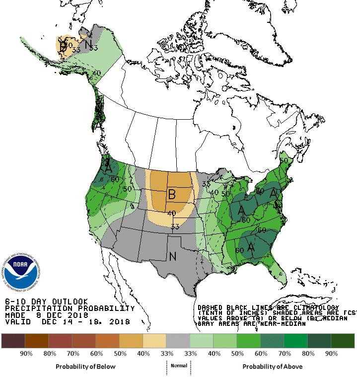 Long Range Outlooks Dec 14-18 6-10 Day