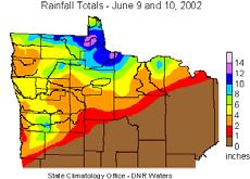 Cities Superstorm June 9 10, 2002, Northern Minnesota September 14 15, 2004