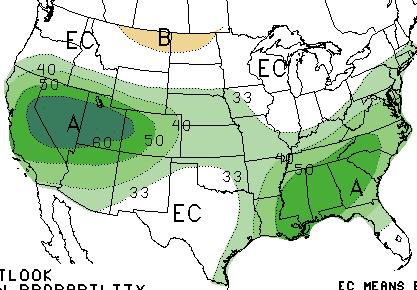 Precipitation Probabilities