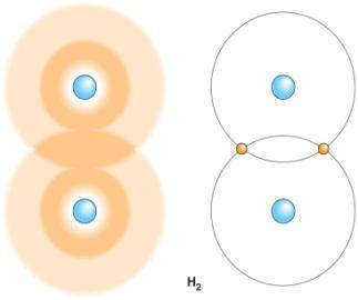 Occur when atoms share valence electrons In nonpolar covalent bonds electrons are shared
