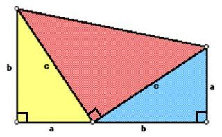Q25) (a) Prove that area of the triangle is ½ x base x height using the figure: Area of rectangle = 2 x area of the triangle Area of rectangle = AC x AD Area of the triangle = ½ x AC x AD Area of the