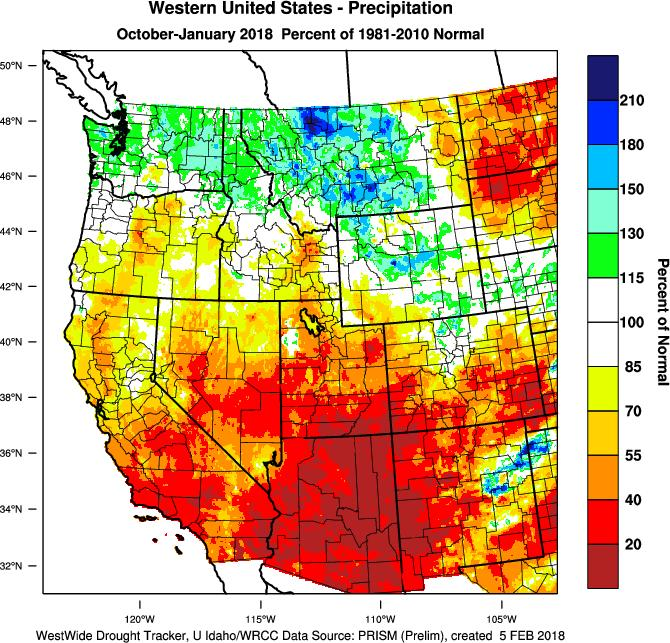precipitation in inches; current month-to-date accumulated precipitation in