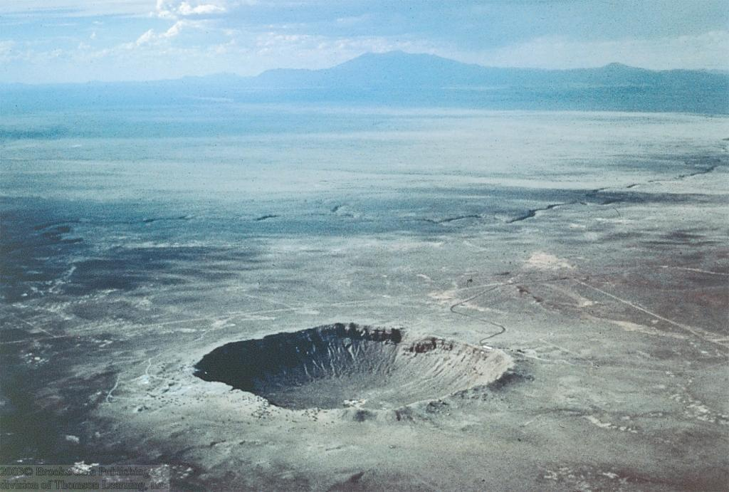 Meteorite Impacts on Earth Over 150 impact craters found on Earth Famous example: