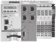 R9990079 (206-05) OBB omega modules 8 basic Made-to-measure mechanics EasyHandling basic contains all the mechatronic components you need to build complete, single- or multi-axis systems to match